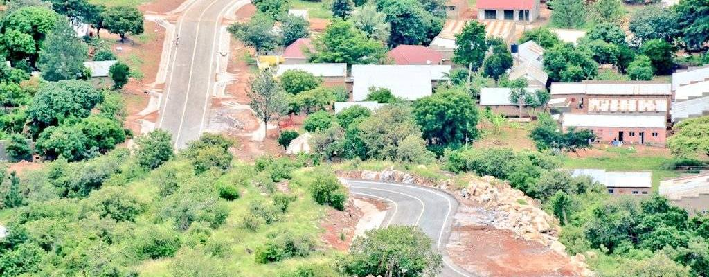 The recently completed Sungira Hills Road in Nakasongola